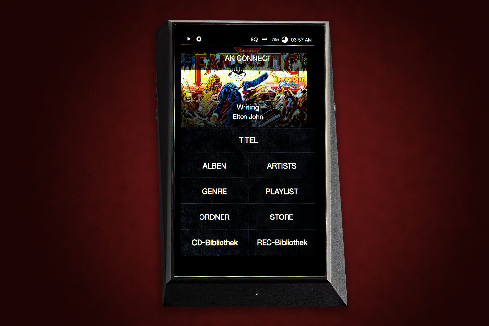 Test: Digital Audio Player Astell&Kern AK300