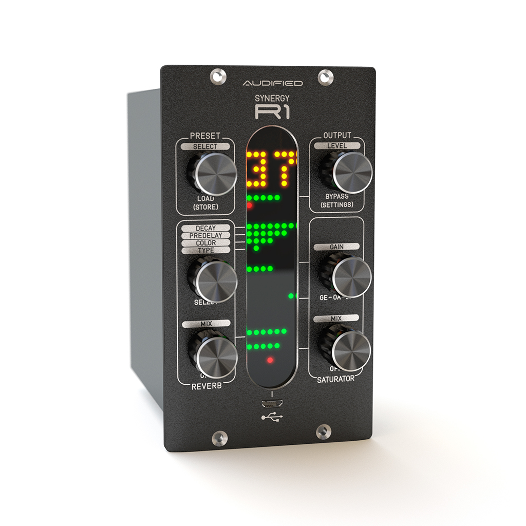 News: Audified Synergy R1 Reverb
