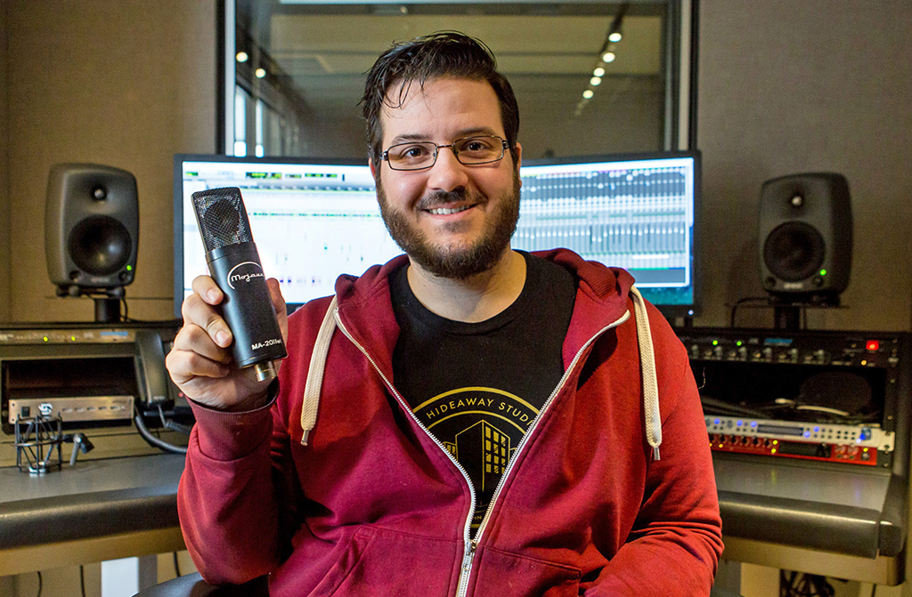 News: Mojave Mikrofone in den Audible Studios eingesetzt