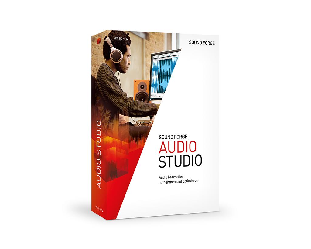 News: Magix veröffentlicht Sound Forge Audio Studio 12