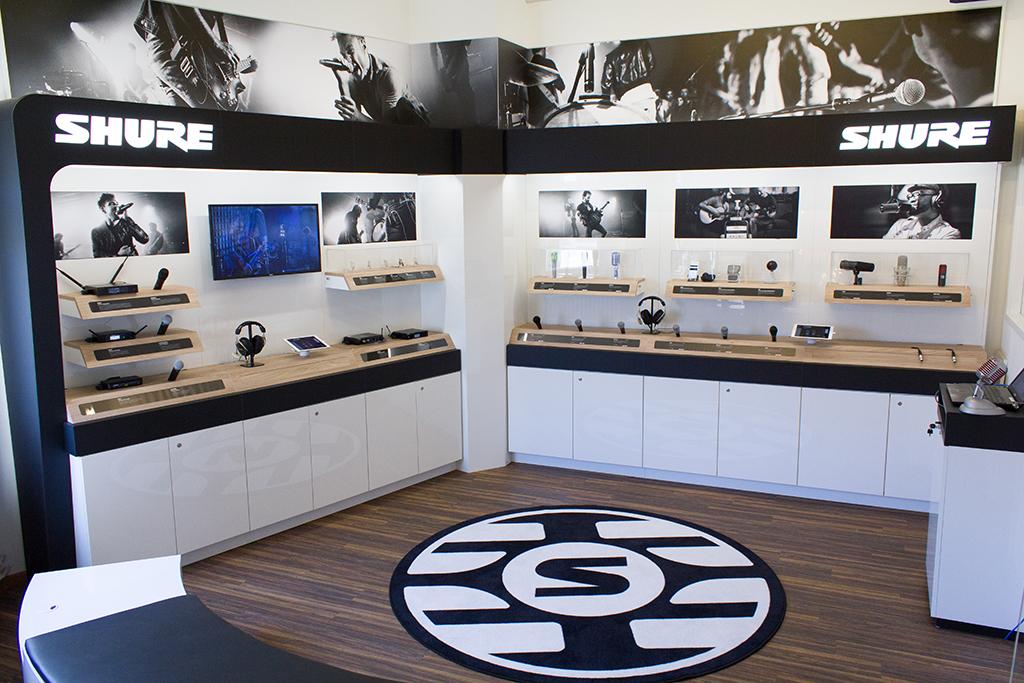 "News: Shure eröffnet ""Experience Center"" in Berlin und Frankfurt am Main"