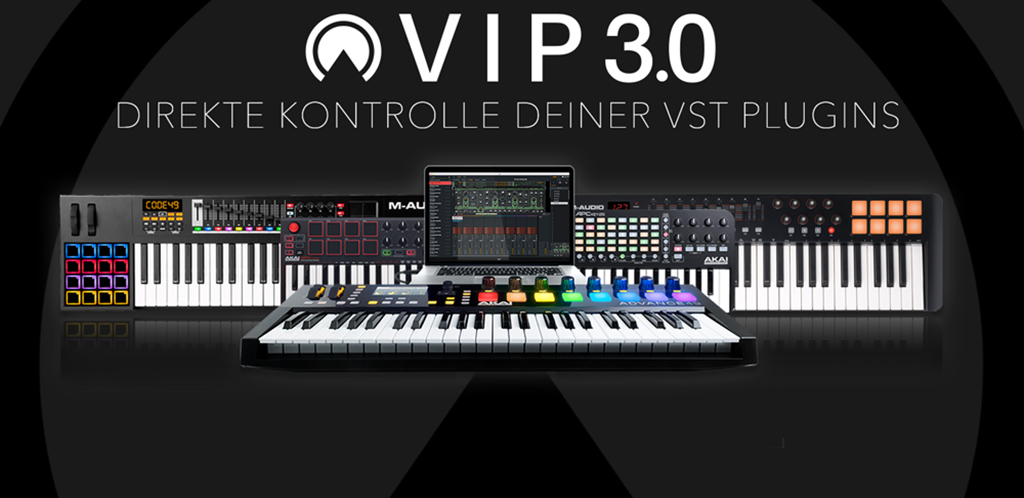 News: Akai Professional Virtual Instrument Player Software in Version 3.0