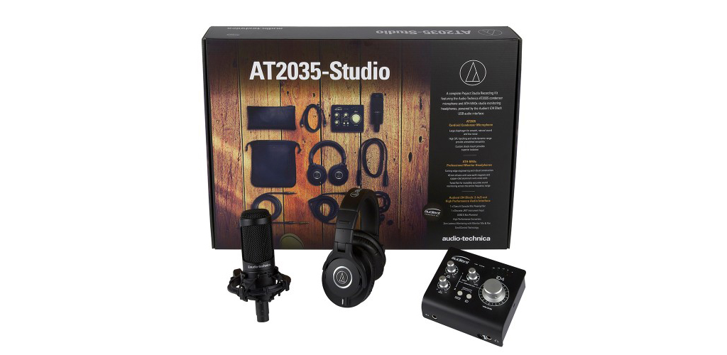 News: Produkt-Bundle AT2035-Studio von Audio-Technica und Audient