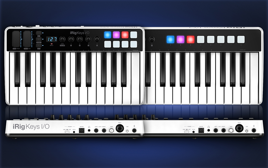 News: IK Multimedia iRig Keys I/O Controller mit eingebautem Audio-Interface