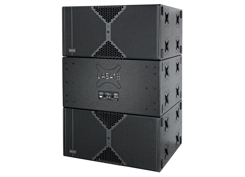 News: NEXT-proaudio mit PA-Subwoofer LAs418G