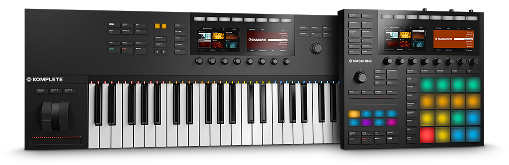 News: Native Instruments mit neuer MASCHINE & KOMPLETE KONTROL Hardware