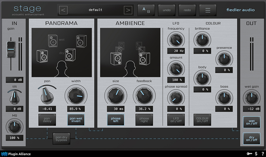News: Plugin Alliance präsentiert fiedler audio stage