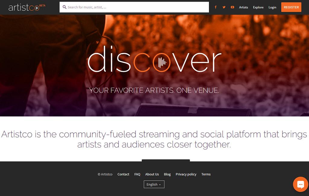 News: Musik-Plattform Artistco stellt sich vor