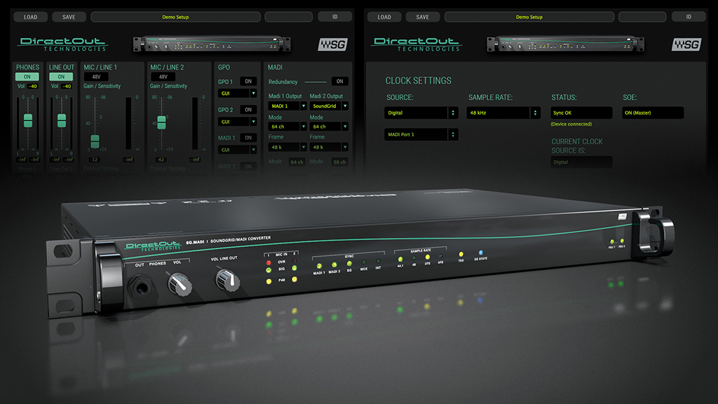News: DirectOut liefert SoundGrid/MADI Interface SG.MADI aus