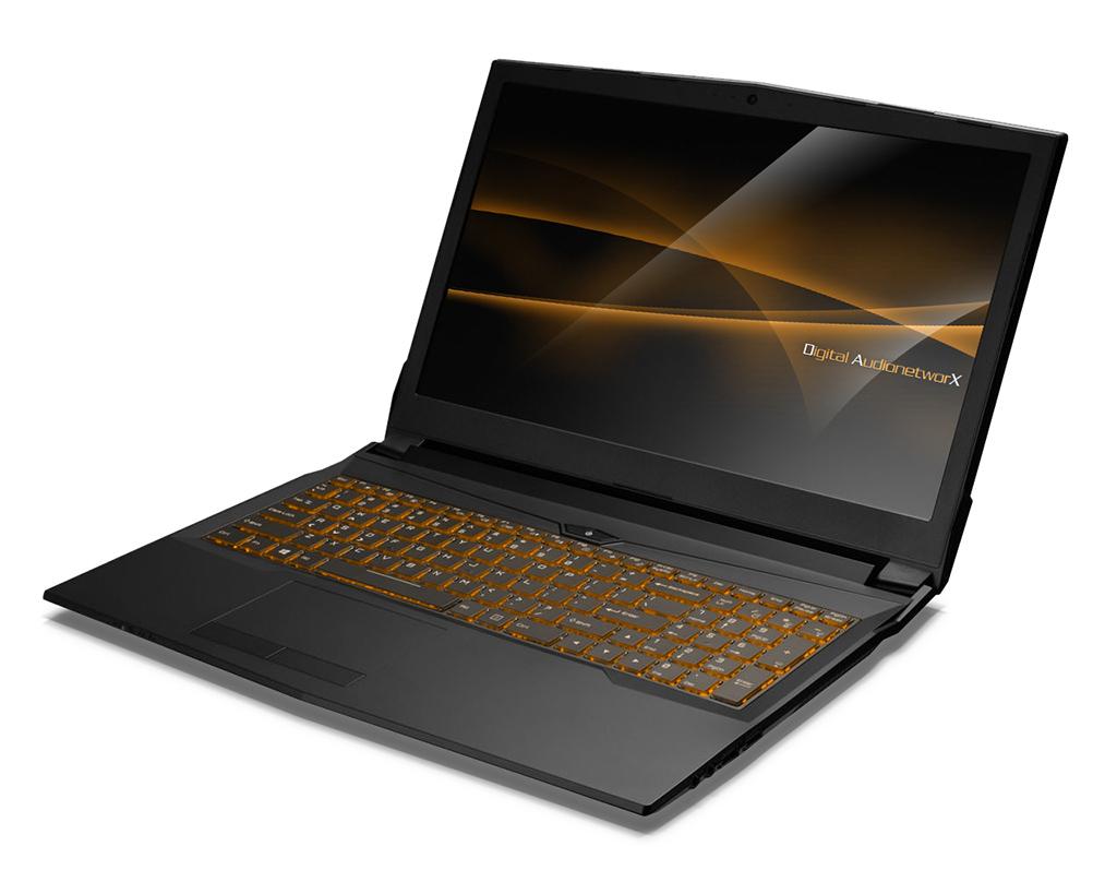 News: DA-X Pro Audio Notebook mit Intel Kaby Lake