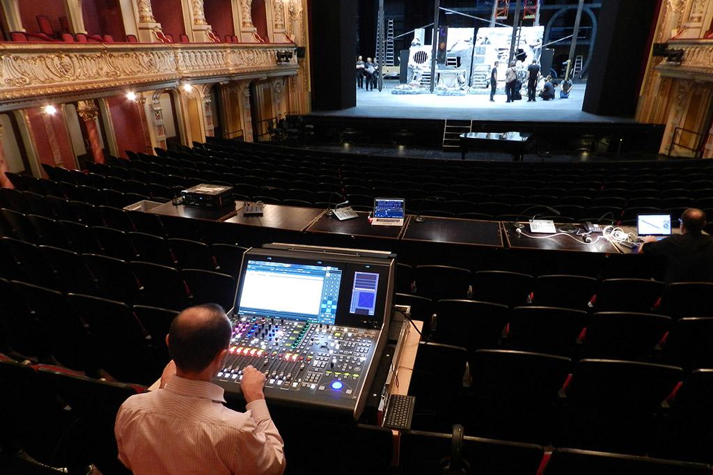 News: IP Audio-Mischpulte von Lawo für Modernisierung im Opernhaus Zürich