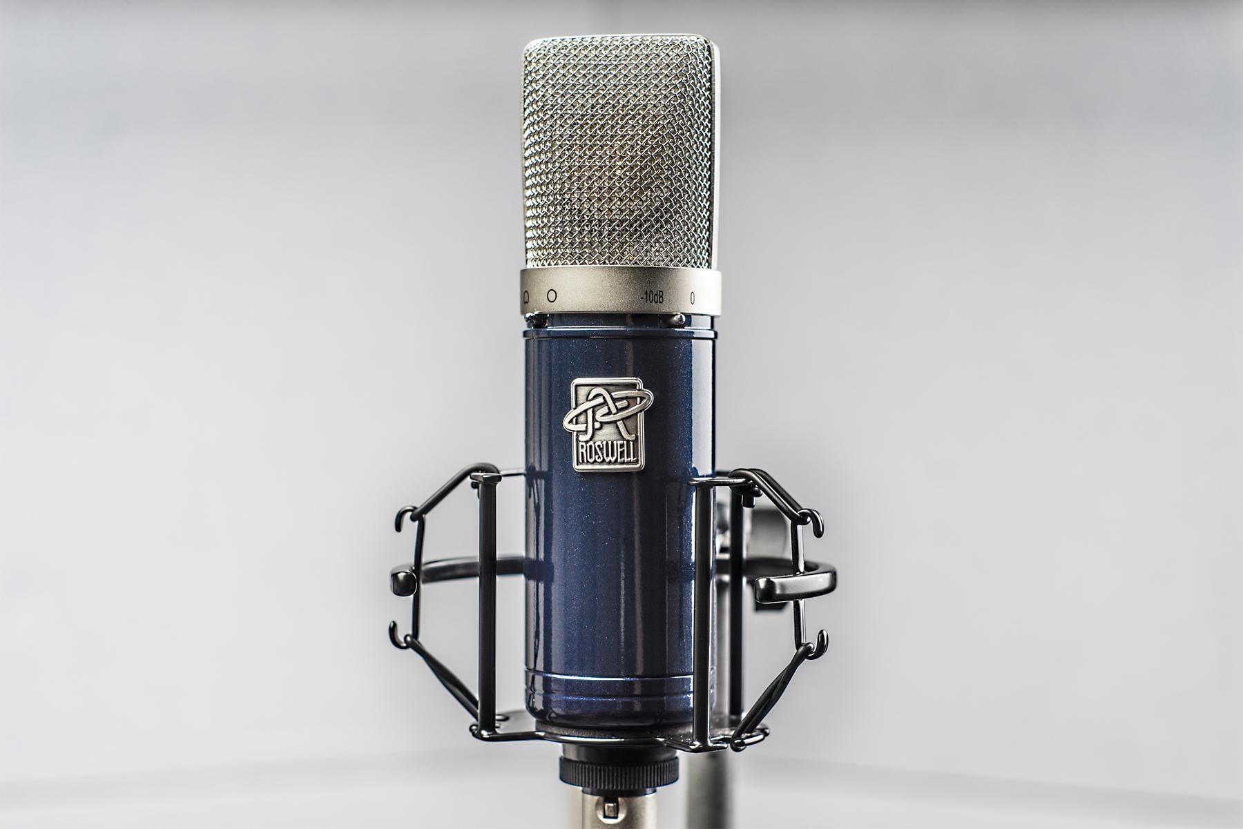 Test: Großmembran-Mikrofon Roswell Delphos