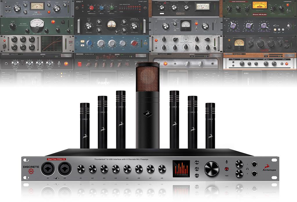 News: Antelope Audio liefert Mikrofonvorverstärker-Interface und Mic-Modelling Bundles aus
