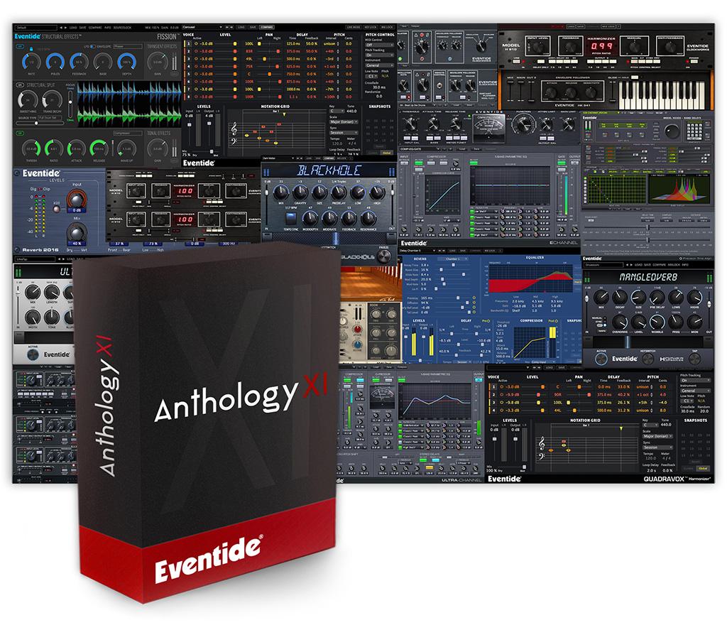 News: Eventide veröffentlicht Plug-in Sammlung Anthology XI