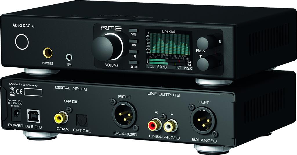 News: RME Audio ADI-2 DAC
