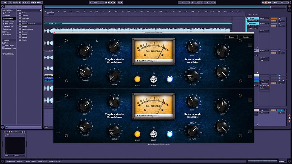 News: Firmware-Version 2.0 für die Schwerkraftmaschine der Tegeler Audio Manufaktur