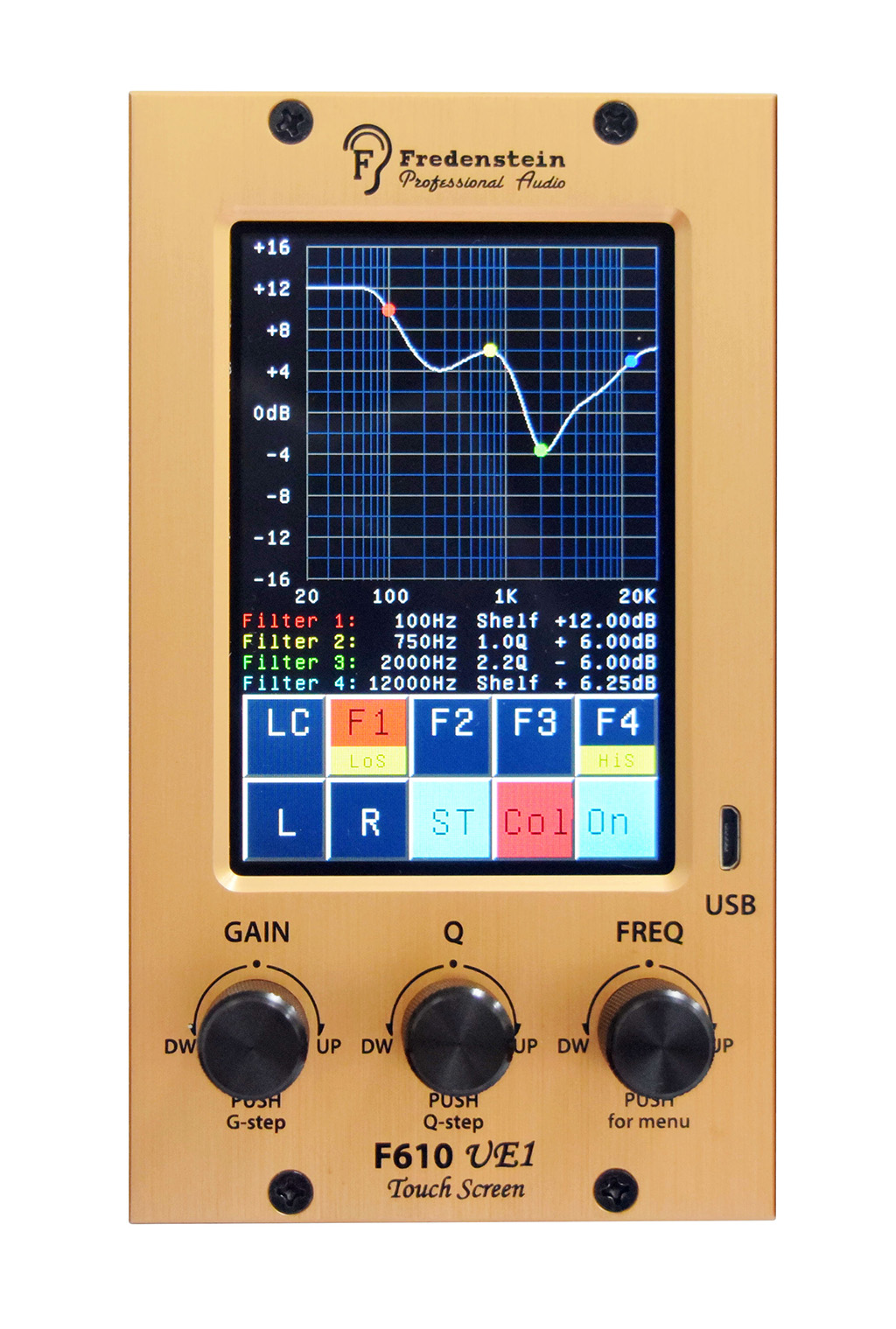 News: Fredenstein F610 UE-1 Stereo-Equalizer