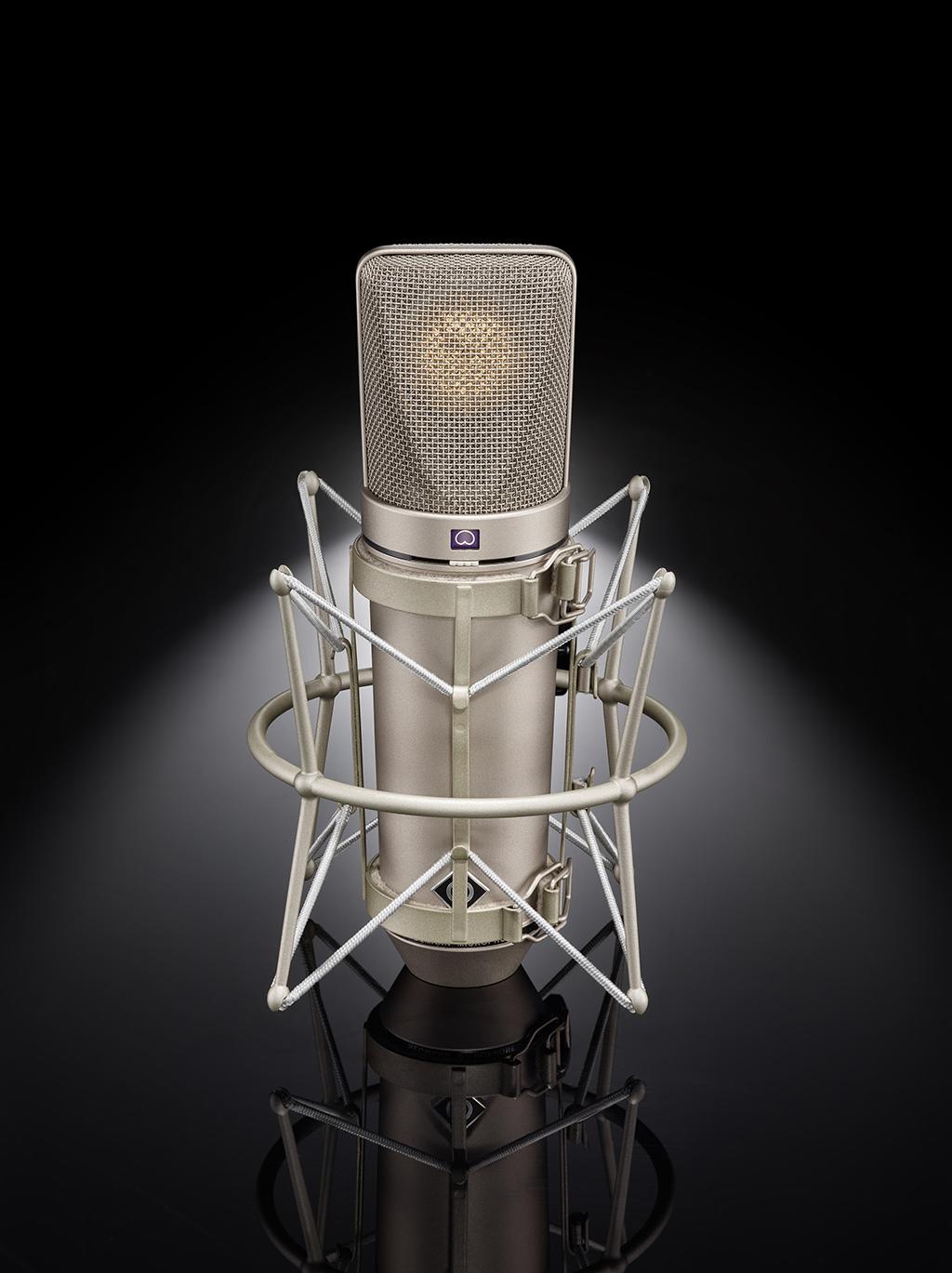 NAMM Show: Neumann legt das Röhrenmikrofon U 67 neu auf
