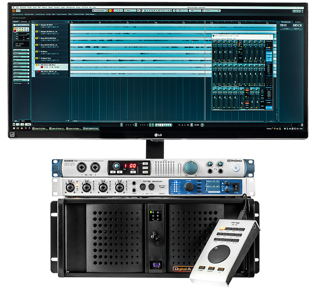 Test: Audio-PC Digital AudionetworX Digital Audio Workstation (Audio PC Konfigurator)