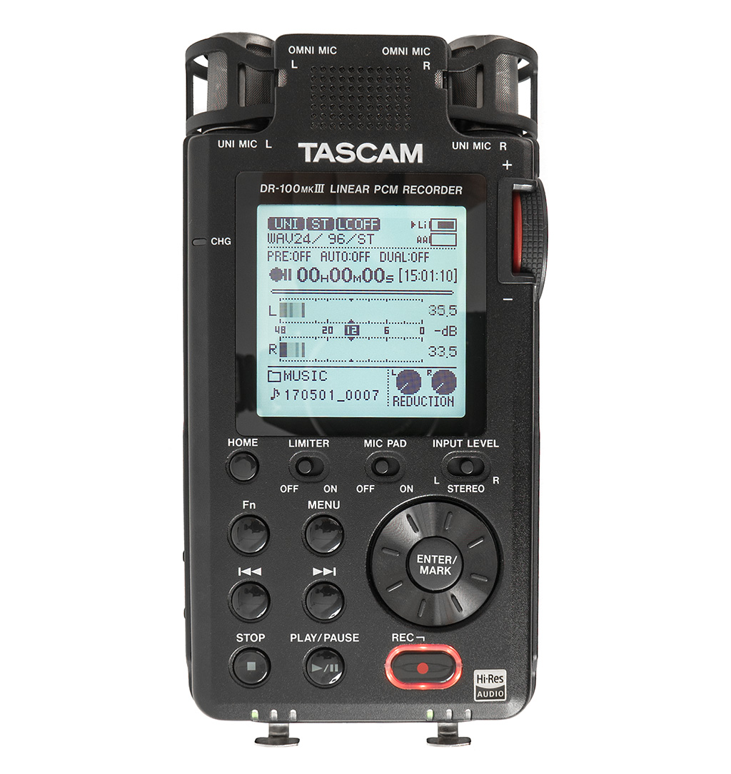 Test: Stand-alone-Recorder Tascam DR-100MKIII