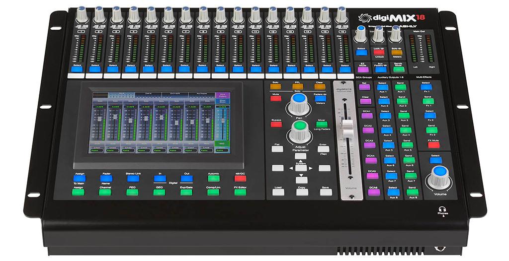 News: Ashly Audio mit digiMIX18
