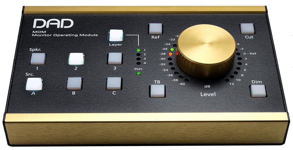 News: Monitor-Controller MOM von Digital Audio Denmark erhältlich