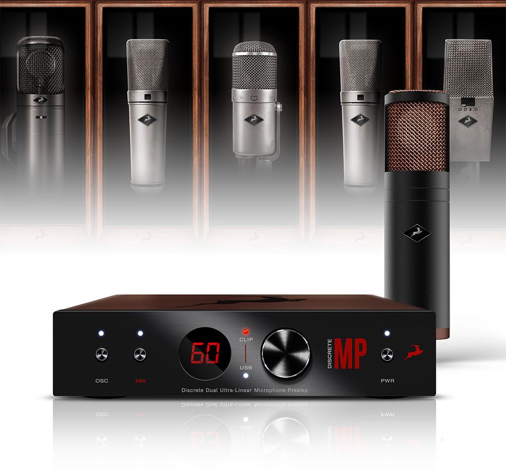 NAMM Show: Antelope Audio mit neuem Mikrofonvorverstärker DISCRETE MP im EDGE Strip-Bundle
