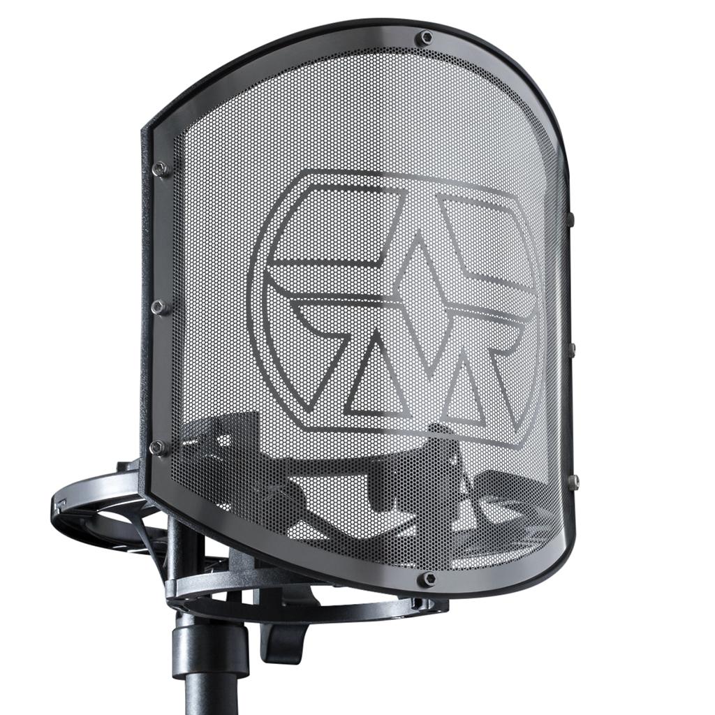 NAMM Show: Aston Microphones mit Trio aus Schwinghalterung und Popschutzfiltern