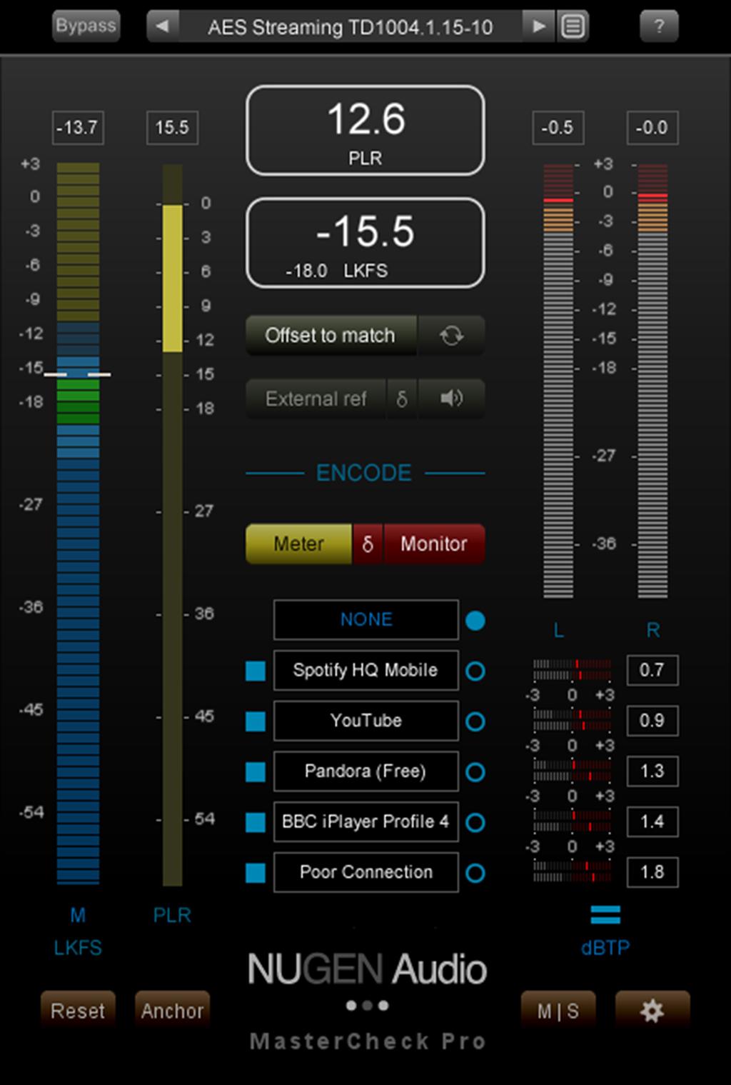 NAMM Show: NUGEN Audio veröffentlicht Version 1.5 des Plug-ins MasterCheck Pro