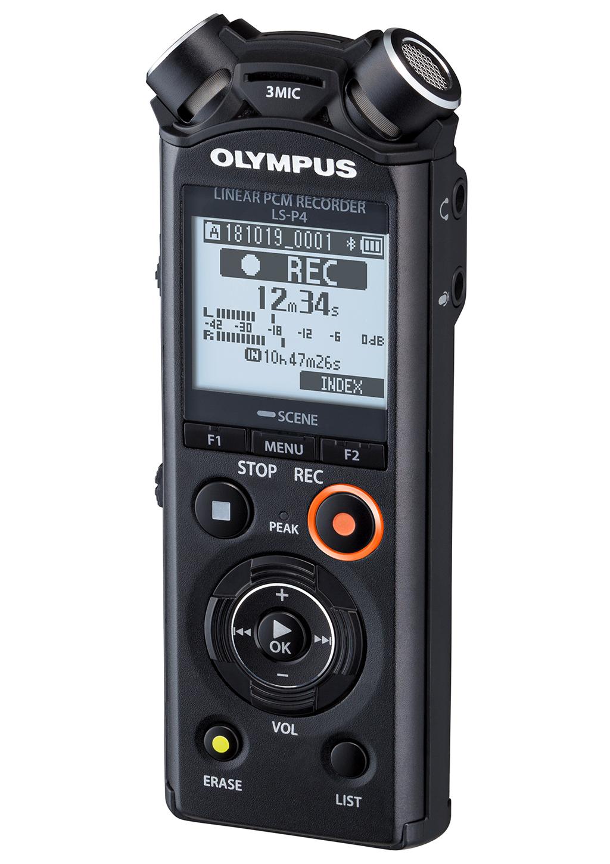 News: Olympus stellt Linear-PCM-Recorder LS-P4 vor