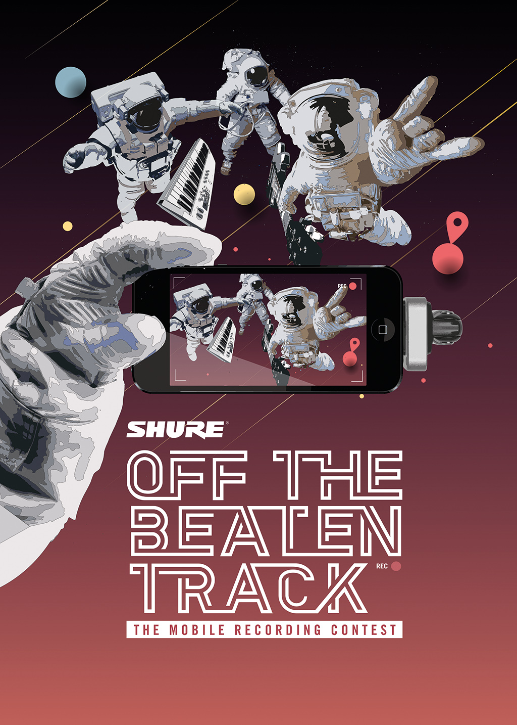 "Shure ruft zum Mobile Recording Contest ""Off the Beaten Track"" auf"