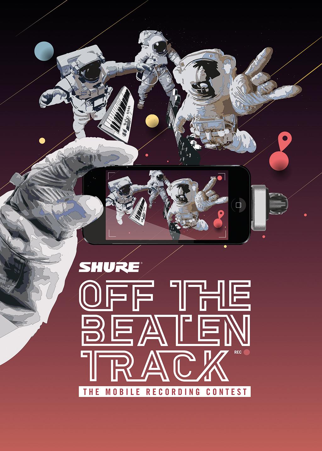 "Shure ruft zum Mobile Recording Contest ""Off the Beaten Track"" auf"