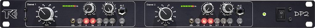 News: Mikrofonvorverstärker DP-2 von TK Audio veröffentlicht