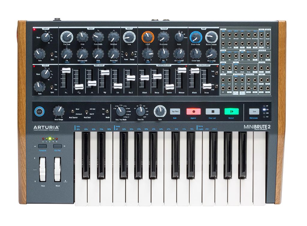 News: Halbmodularer Synthesizer MiniBrute 2 von Arturia