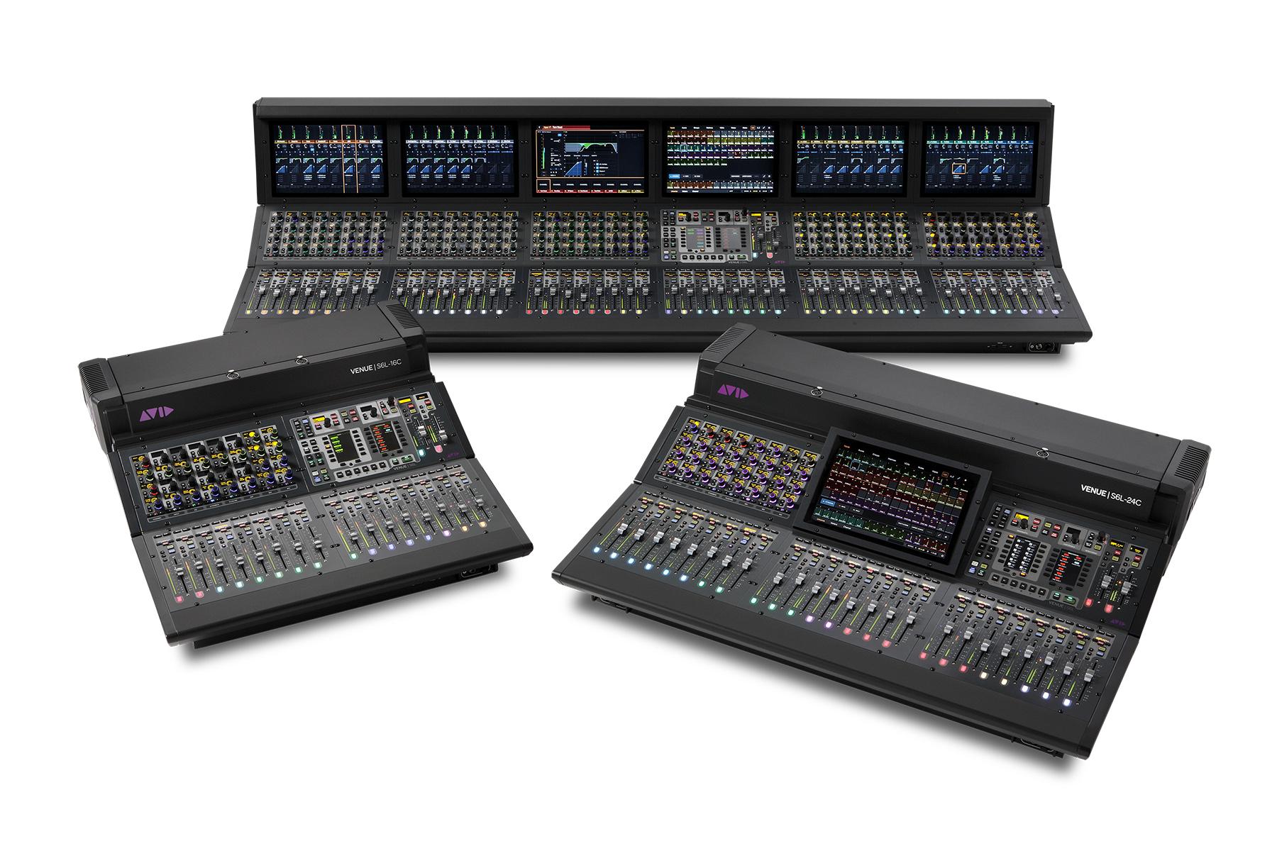 News: Avid VENUE | S6L-Produktserie ergänzt