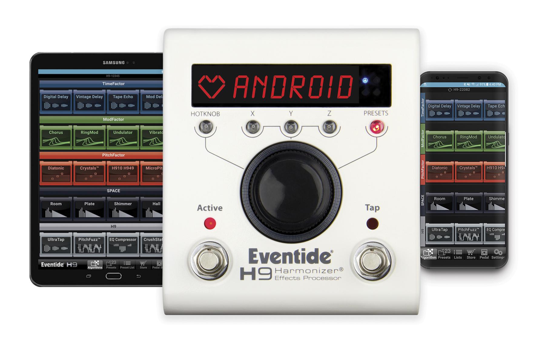 News: Eventide H9 Control App für Andriod verfügbar