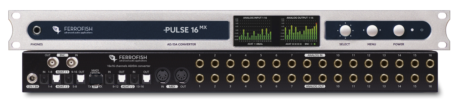News: Ferrofish Pulse 16 MX mit flexibler MADI-Schnittstelle