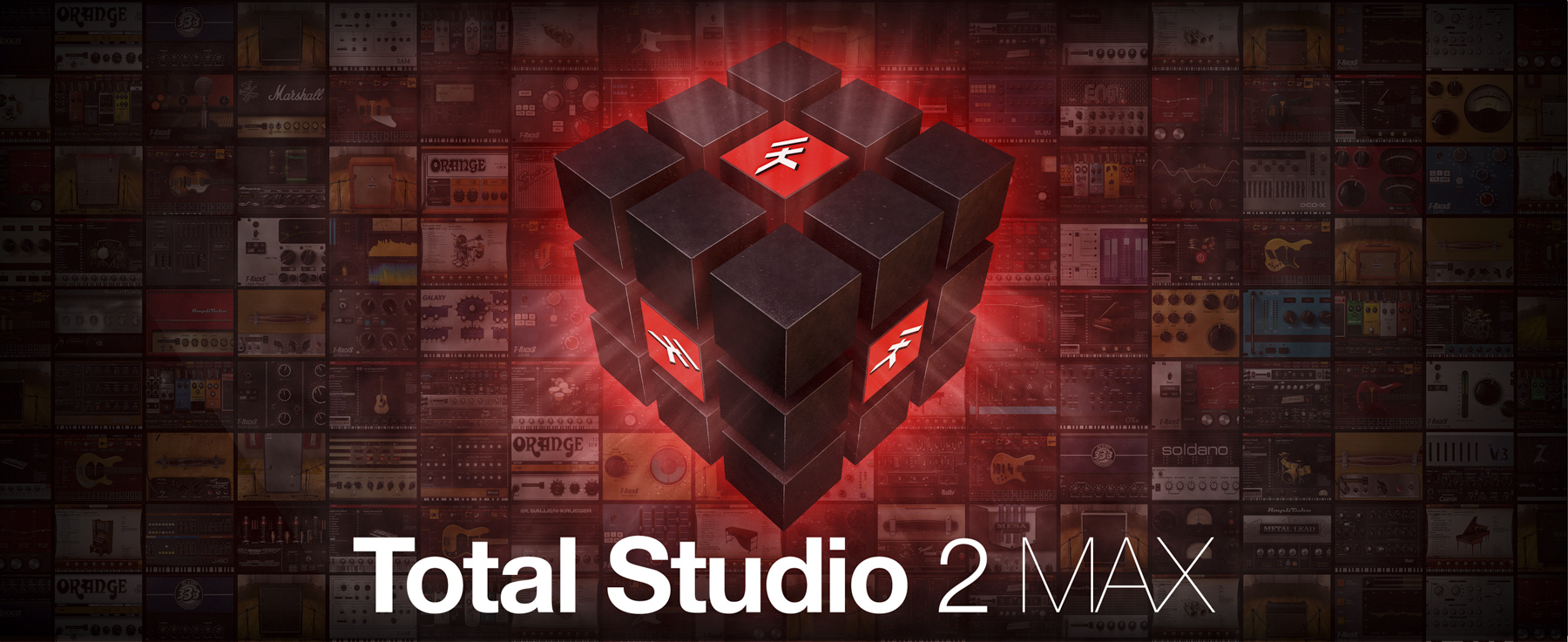 News: Vollausgestattetes Softwarepaket Total Studio 2 MAX von IK Multimedia