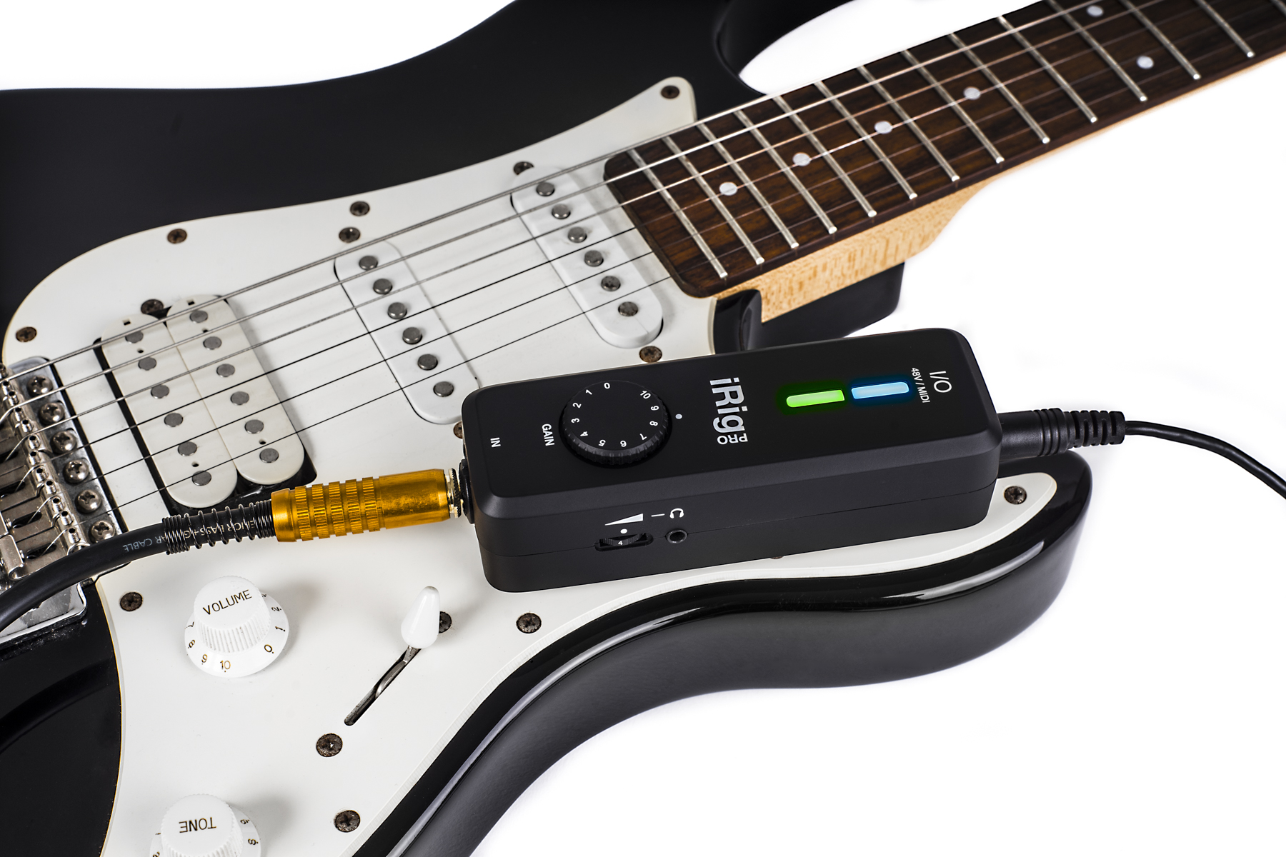 Test: USB Audio-Interface IK Multimedia iRig Pro I/O