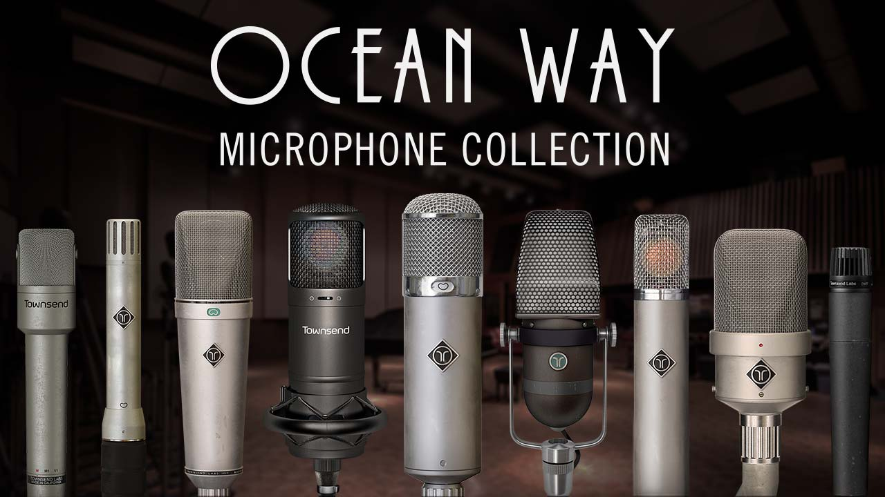 News: Ocean Way Mic Collection für das Townsend Labs Sphere Modeling-Mikrofonsystem
