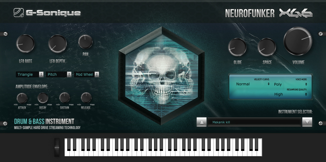 News: G-Sonique mit Softwareinstrument Neurofunker XG6