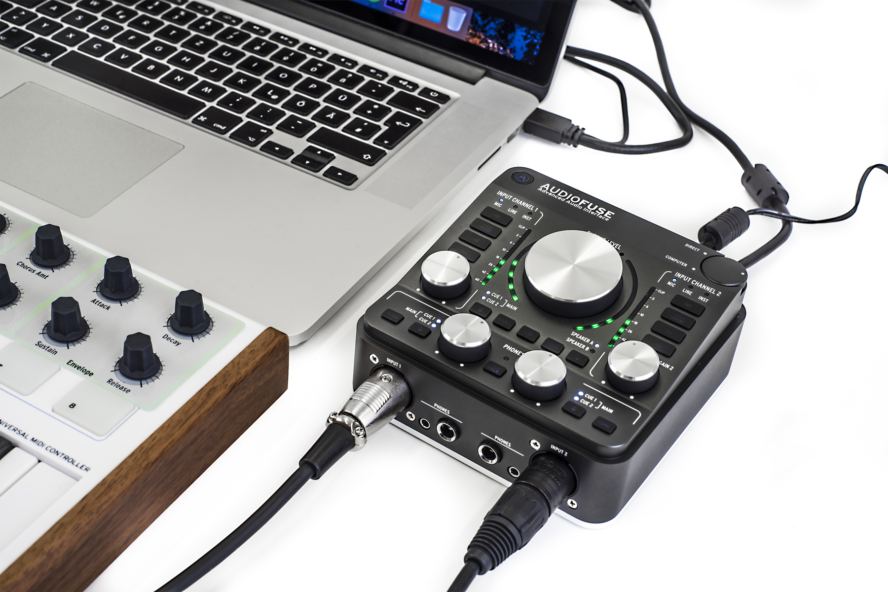 Test: Audio-Interface Arturia AudioFuse