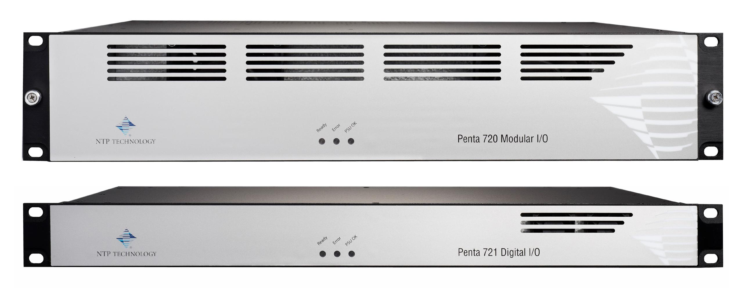 News: NTP Technology Penta 720 und 721 mit Dante/AES67-Kompatibilität