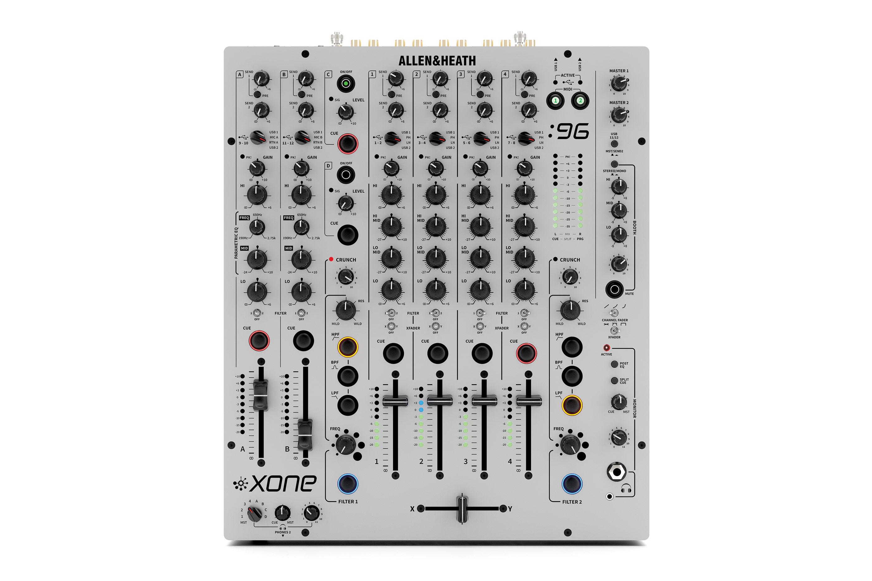 News: DJ-Mixer Xone:96 von Allen & Heath vorgestellt