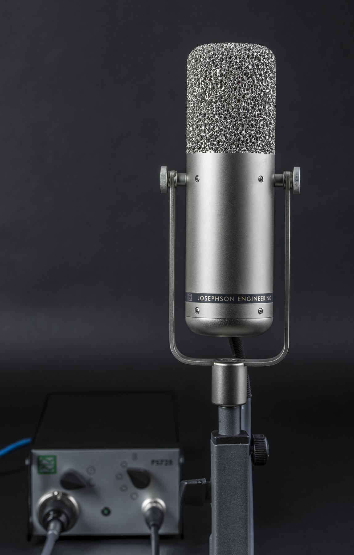 Test: Röhren-Großmembranmikrofon Josephson C725