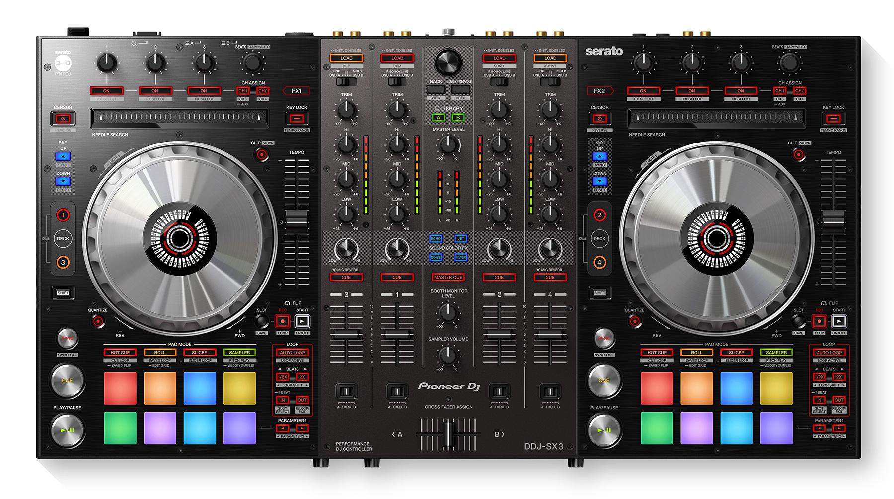 News: Pioneer DJ mit Performance DJ-Controller DDJ-SX3