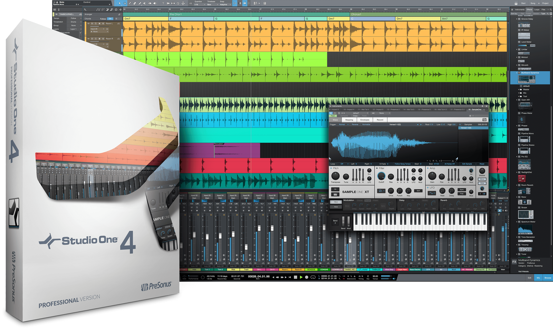 PreSonus liefert Studio One 4 und kündigt Live-Stream Vorführung an