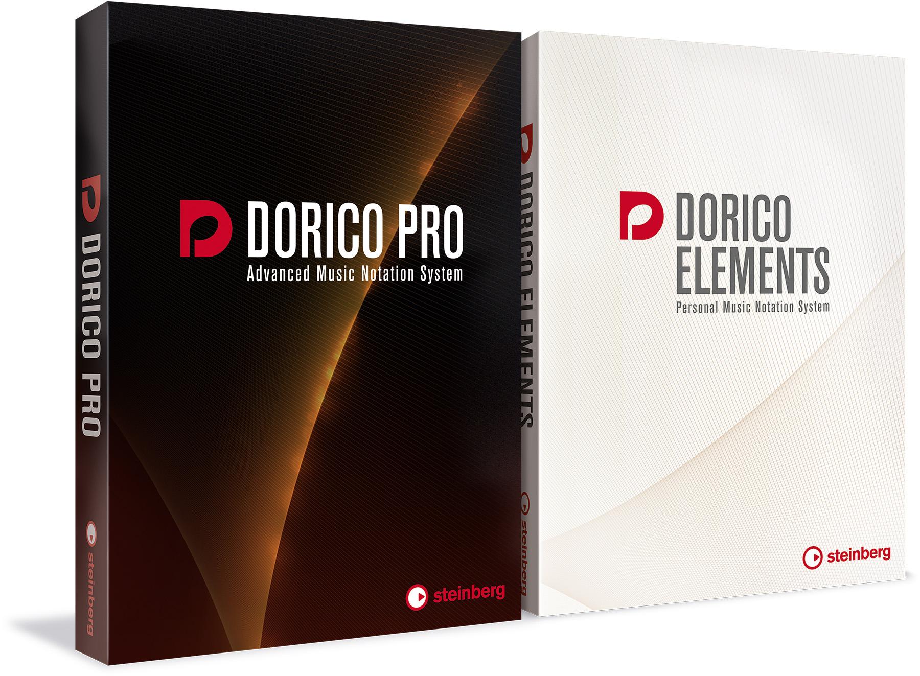 News: Dorico Pro 2 und Dorico Elements 2 von Steinberg erhältlich