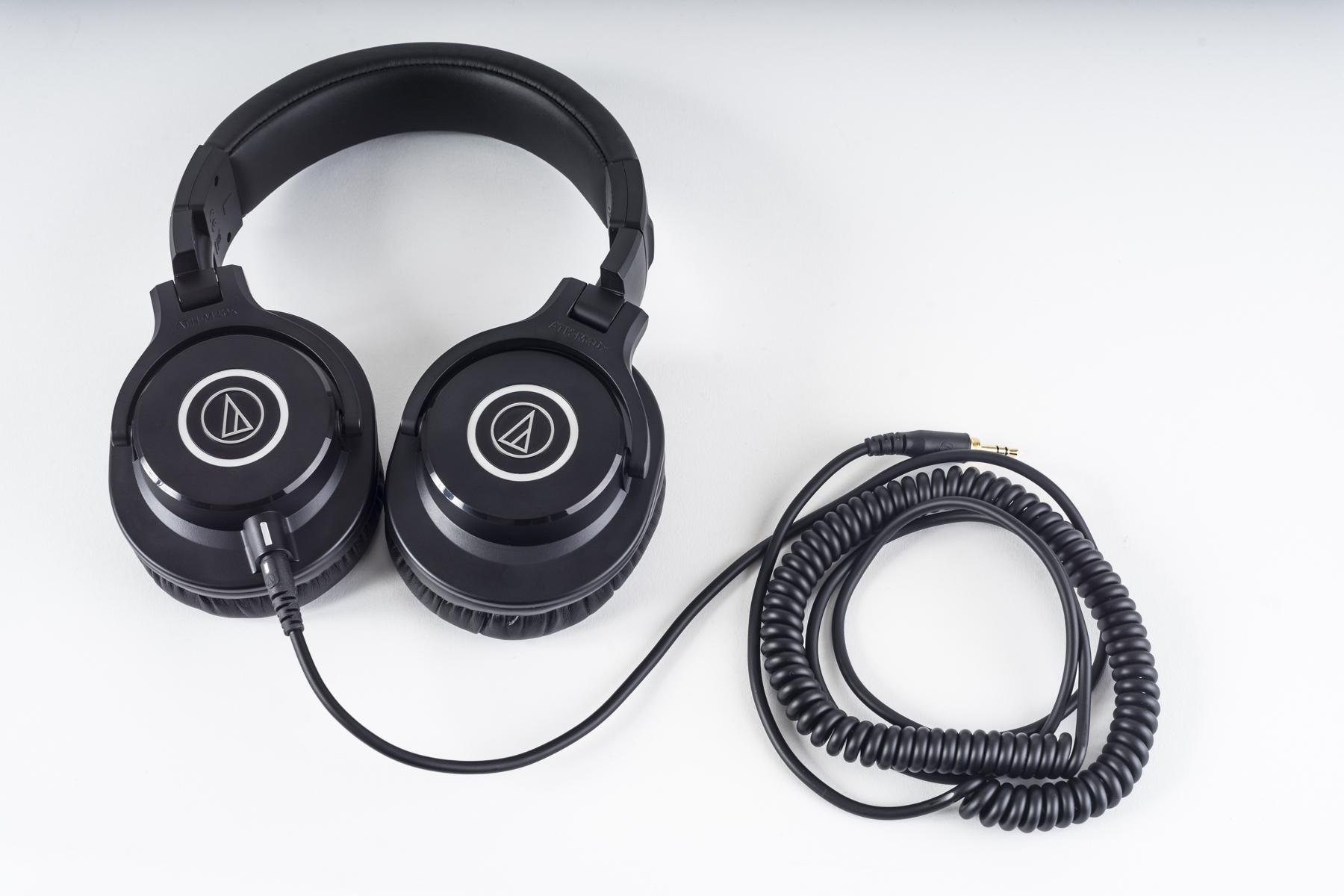 Audio-Technica AT2035-Studio, ATH-40X