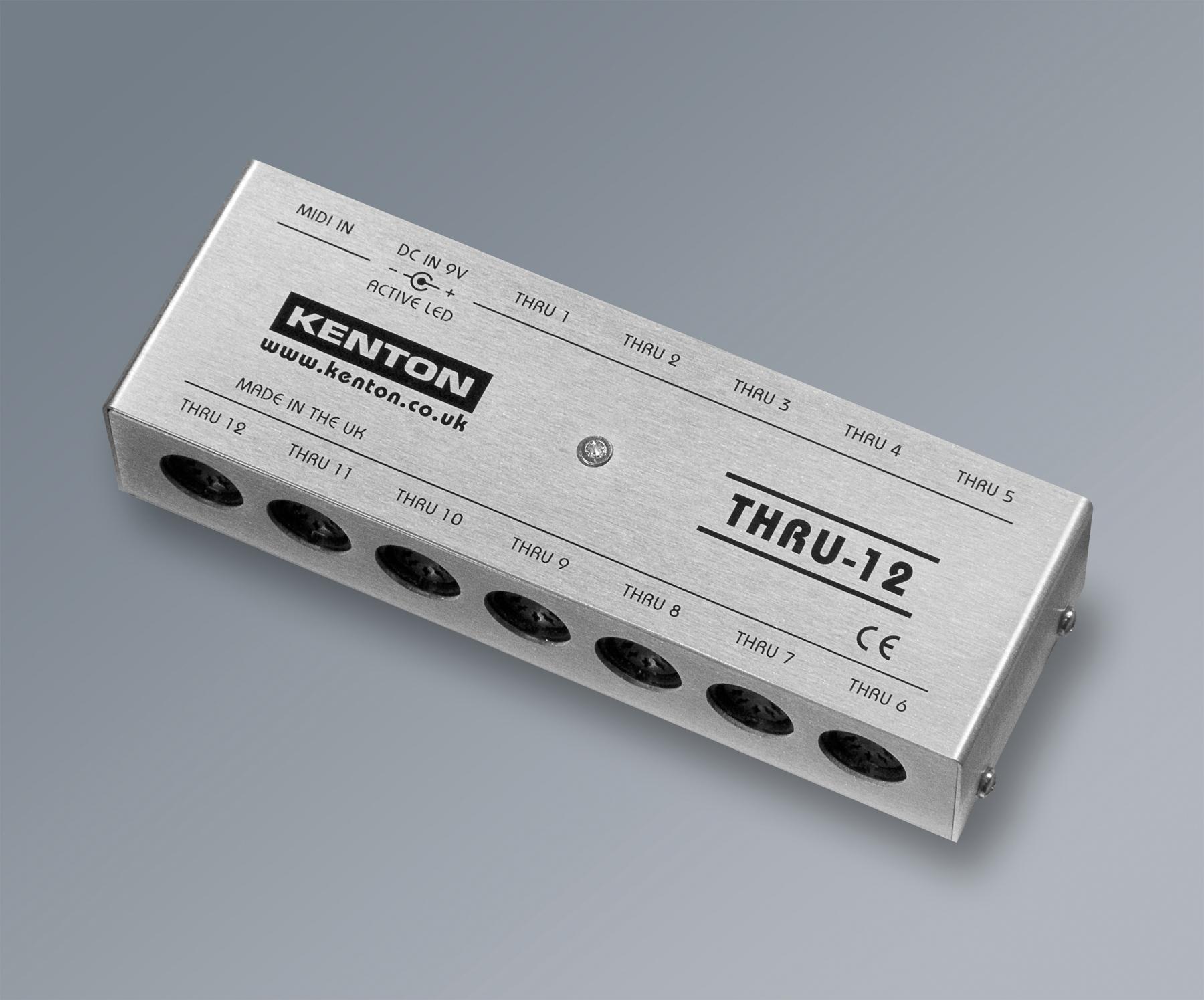 News: Kenton stellt Midi-Verteiler Thru-12 vor